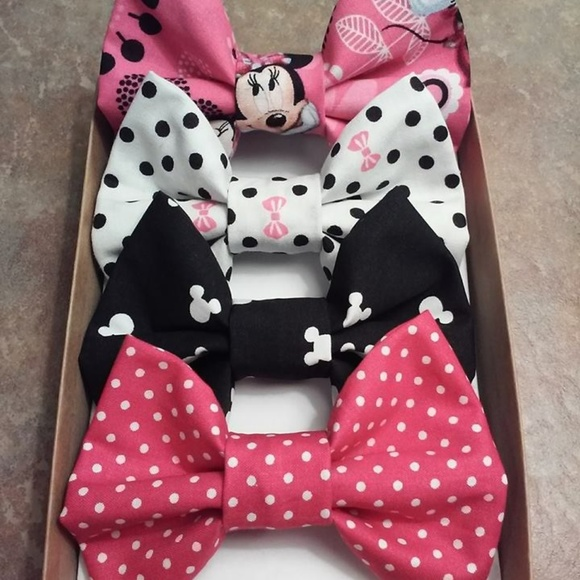 Disney Other - Hot Pink Minnie Mouse Bow Box